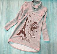 Детское платье - туника р. 134-152 Парижанка, фото 1