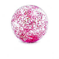 Мяч пляжный 58070 (Малиновый пляжный)