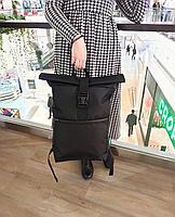 Рюкзак мужской rolltop роллтоп городской, большой вместительный рюкзак унисекс