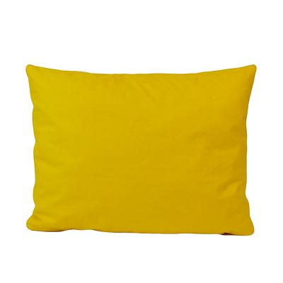 Подушка, 45*35 см, (хлопок), (ярко желтый)