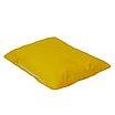 Подушка, 45*35 см, (хлопок), (ярко желтый), фото 2