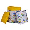 Подушка, 30*30 см, (бавовна), (яскраво-жовтий), фото 2