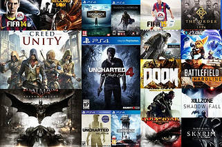 Игры для PS4 новые
