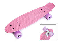 "Пенни борд, Penny Board ""Pastel Series"" Нежно-розовый цвет."