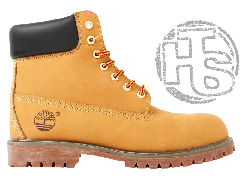 Мужские ботинки Timberland Classic Boots Beige Winter (с мехом)
