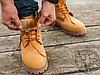 Мужские ботинки Timberland Classic Boots Beige Winter (с мехом), фото 3