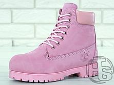 Женские ботинки Timberland Classic Boots Pink (с мехом), фото 2