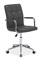 Компьютерный стул Signal Q-022 серый экокожа