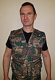 "Костюм (жилетка брюки) для рыбаков летний камуфлированный (х/б) ""дубок"", фото 2"