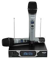 Радиосистема Shure SH-999R, база, 2 микрофона + Кейс (14166)