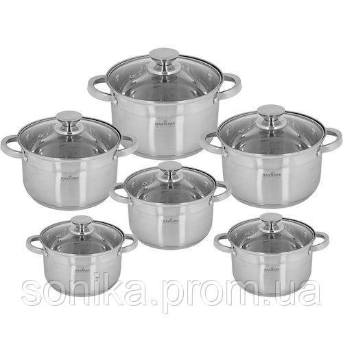 Набір посуду Maxmark 12предметів МК-3512В