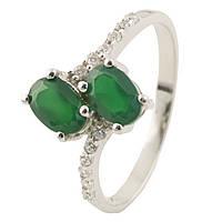 Серебряное кольцо  с натуральным агатом , фото 1