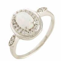 Серебряное кольцо Unicorn с опалом (1189894) 17 размер, фото 1