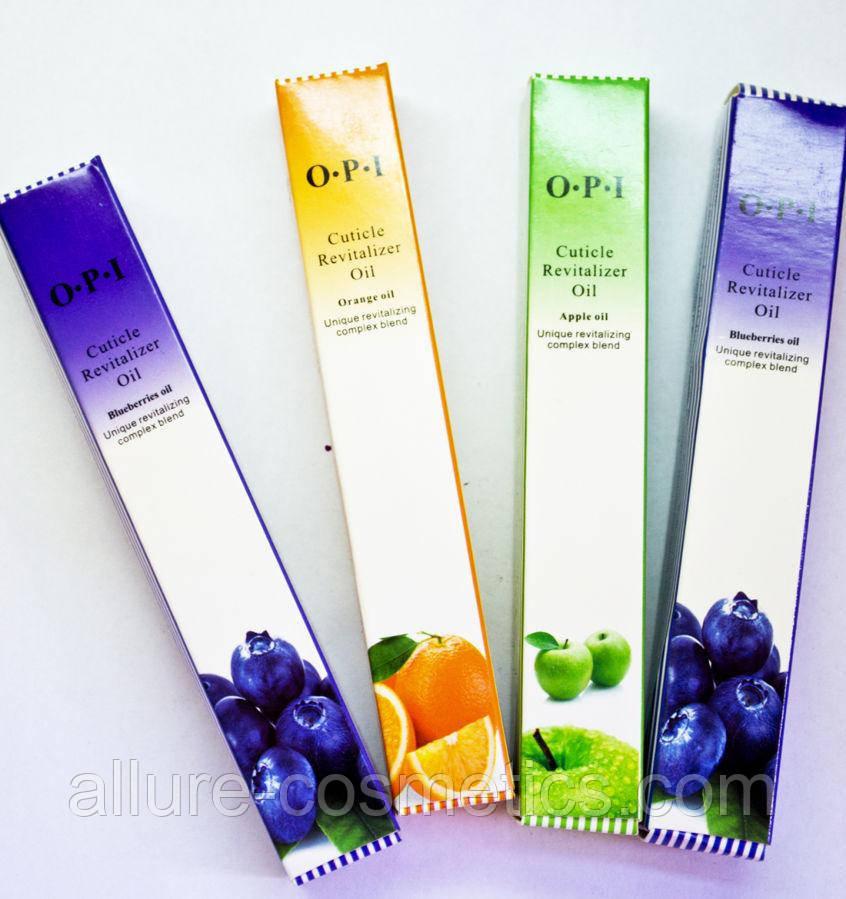 Масло для кутикули OPI Cuticle Revitalizer Oil олівець з пензликом в асортименті