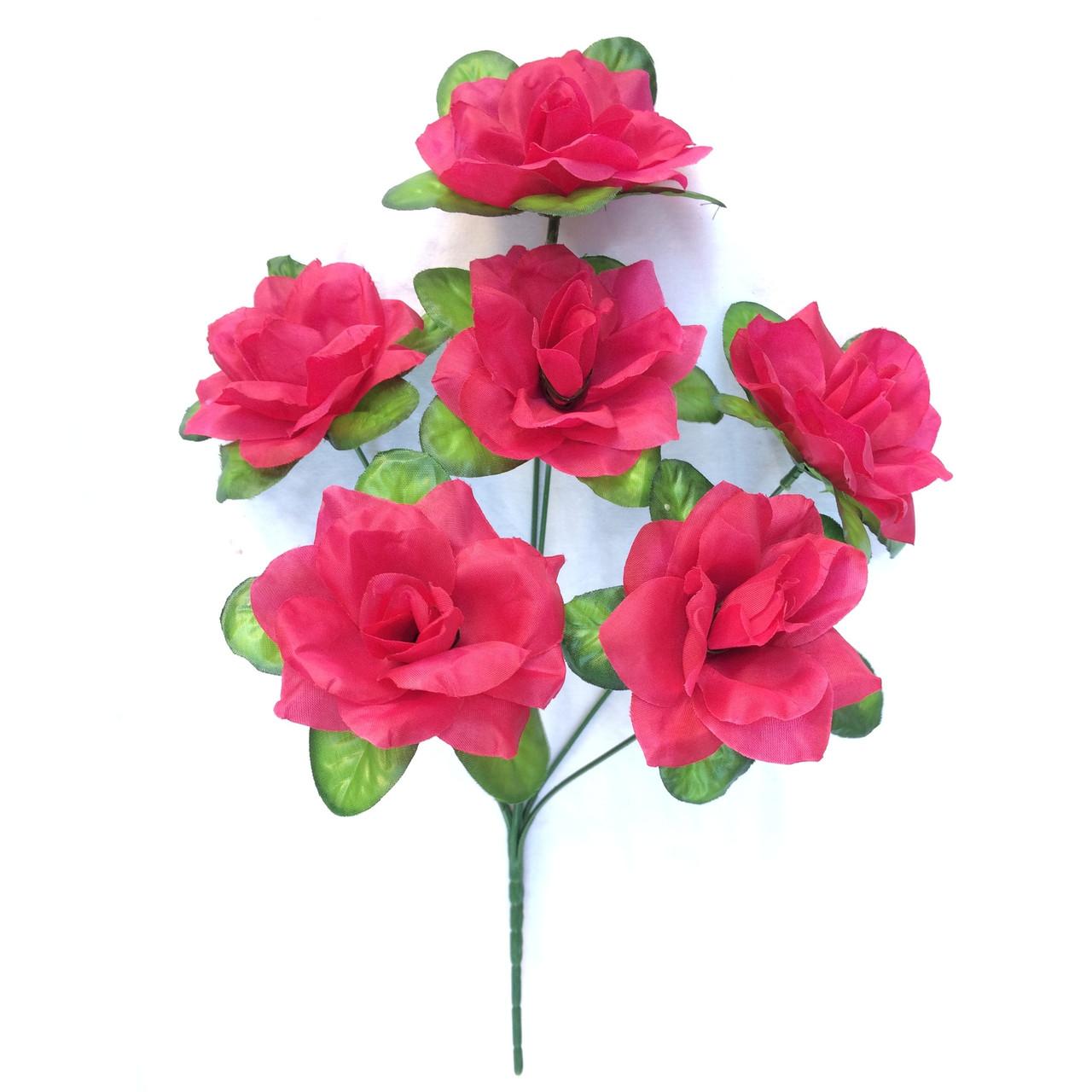 Букет Роза с подложкой 36см  (40 шт в уп)