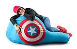 Крісло-груша «Капітан Америка» з тканини Оксфорд, фото 2