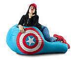 Крісло-груша «Капітан Америка» з тканини Оксфорд, фото 3