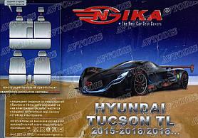 Авточехлы Hyundai Tucson TL 2018- Nika