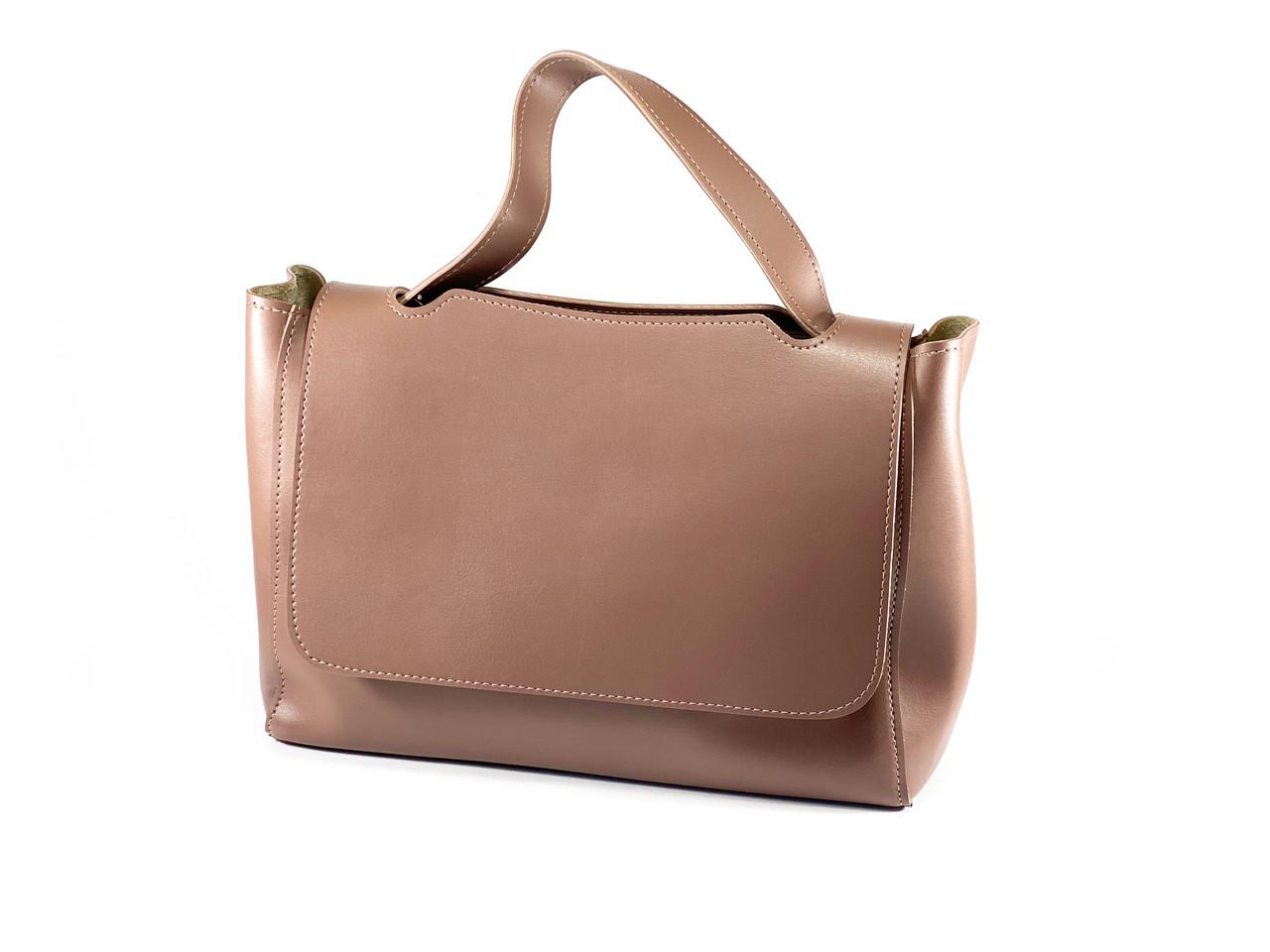 Модная женская сумка - Темная Пудра