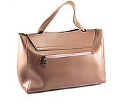 Модная женская сумка - Темная Пудра, фото 3
