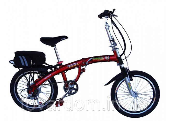 Электровелосипед складной Вольта Лого