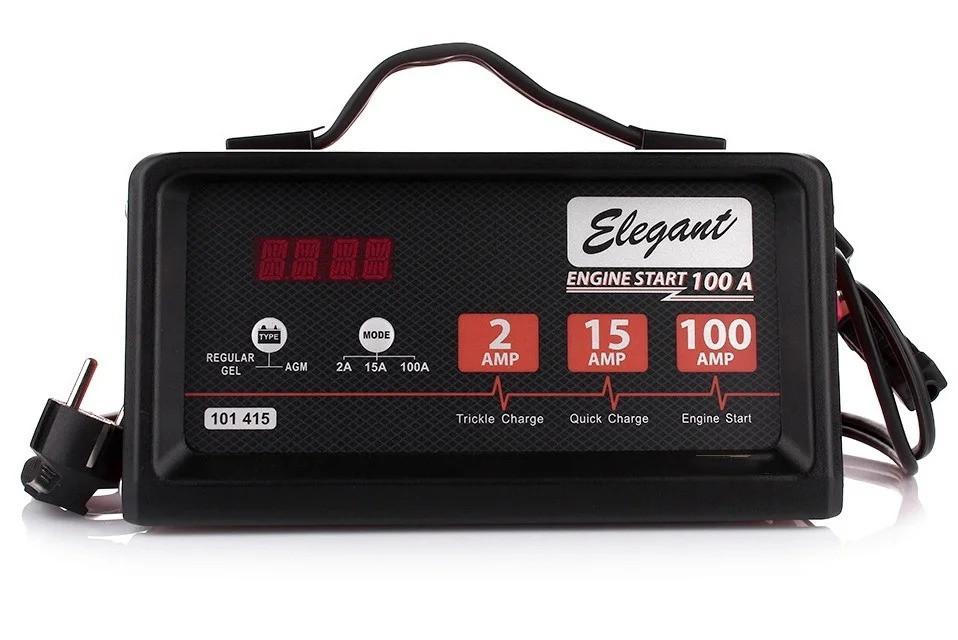 Пуско-зарядное устройство Старт 100А ,Заряд 15А 12В Elegant 101 415