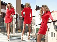 Стильное  платье-пиджак   для офиса  Gr 28118, фото 1