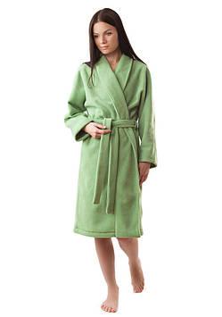 Теплий плюшевий жіночий халат (S-XL)