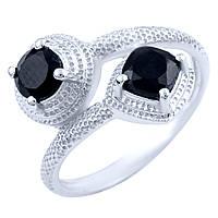 Серебряное кольцо  с натуральным ониксом , фото 1