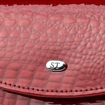 Кошелек LR кожа-лак SERGIO TORRETTI WS-11 красный, фото 2