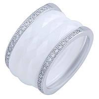 Серебряное кольцо  с , керамикой , фото 1