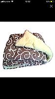 Одеяло меховые из овечьей шерсти евроразмер 2,00x2,20 см (овчина)