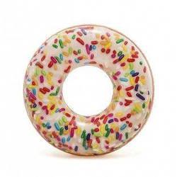 """Круг надувной """"Пончик с присыпкой"""" (114 см)  sco"""