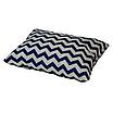 Подушка, 45*35 см, (бавовна), (зигзаги сині), фото 2