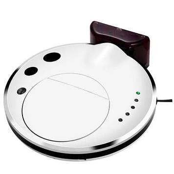 Тихий ультратонкий миючий робот-пилосос INSPIRE з функцією ультразвукової самоочищення FQ3C White (90719390)