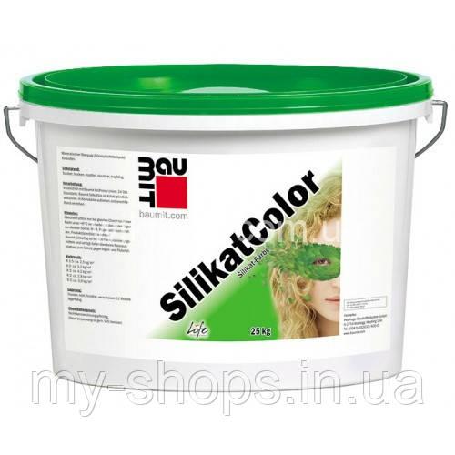 Силікатна фарба Бауміт СилікатКолор(14л/22,4 кг) (БЕЛАЯ База 0019)
