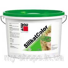 Силікатна фарба Бауміт СилікатКолор(14л/22,4 кг) (БІЛА База 0019)
