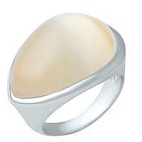 Серебряное кольцо Unicorn с кошачим глазом (1944837) 16.5 размер