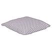 Подушка, 40*40 см, (бавовна), (горох сірий на білому), фото 2