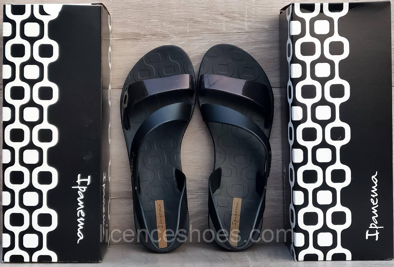 41 расцветка. Женские сандалии, босоножки, вьетнамки Ipanema Vibe Sandal ЧЕРНЫЙ МЕТАЛИК