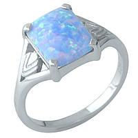 Серебряное кольцо Unicorn с опалом (1960325) 18.5 размер, фото 1