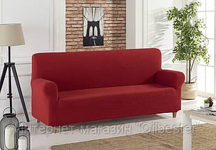 Чехол на диван Бордовый Home Collection Karna Турция 50078