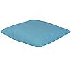 Подушка, 40*40 см, (бавовна), (горох на бірюзовому), фото 2