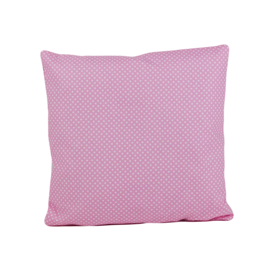 Подушка, 40*40 см, (хлопок), (горох на розовом)