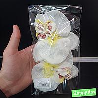Головка біла орхідея 2шт.