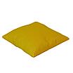 Подушка, 40*40 см, (бавовна), (горох на жовтому), фото 2
