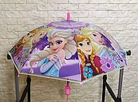 Детский зонтик, зонт для девочки Frozen