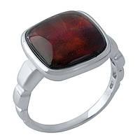 Серебряное кольцо  с натуральным аммолітом
