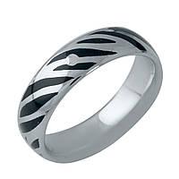 Серебряное кольцо Unicorn с емаллю (1985946) 17 размер, фото 1