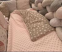 Набор постельного белья  в детскую кроватку  Коса 9 позиций